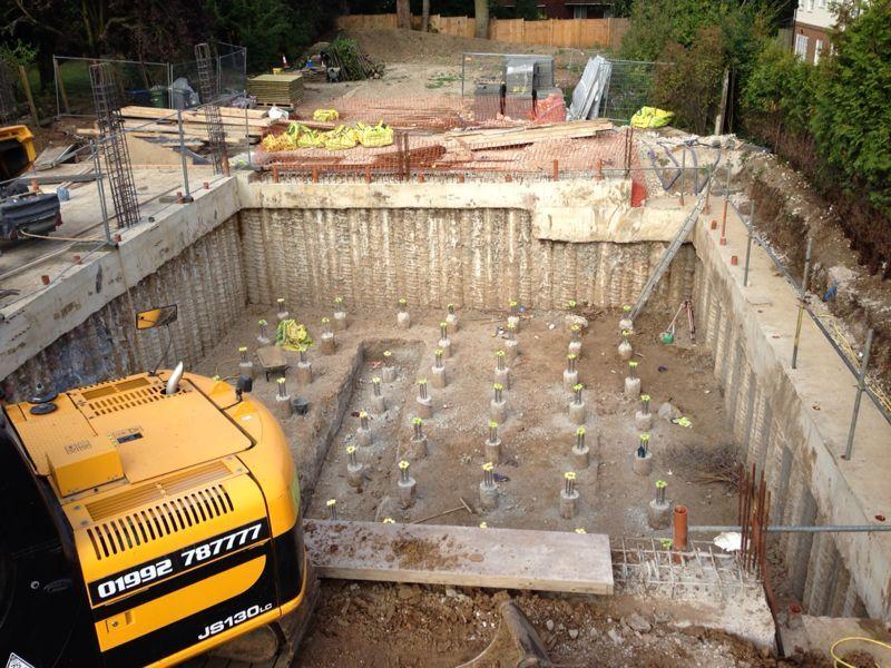 basement excavation specialist groundworks london sb civil