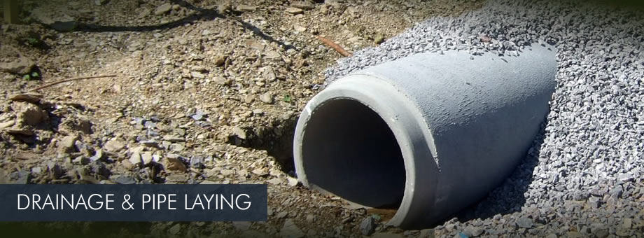 Drainage Services Sewer Pipe Construction Deep Drainage
